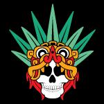 Aztec goddess of Mezcal, Mayahuel.